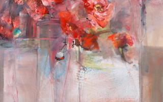 'Jardin intérieur: rouge passion