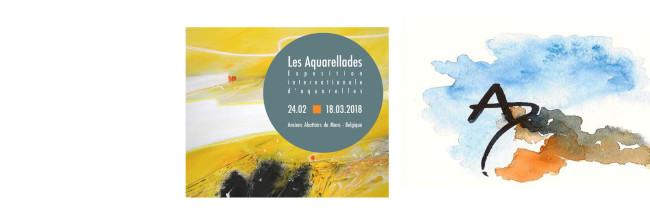 Les Aquarellades 2018 du 24 Février au 18 Mars 2018