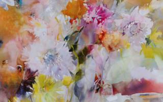 Bouquet d'automne au jardin